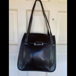 Cole Haan brown leather bag